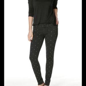 NWT PAIGE Verdugo Crystal Ultra Skinny Jeans